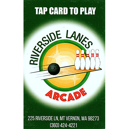 Gift Card: Riverside Lanes Game Room
