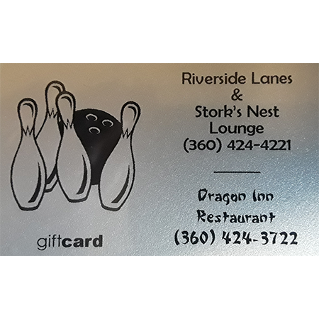 Gift Card: Riverside Lanes